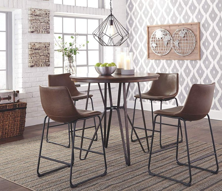 Ashley Furniture Signature Design - Centiar Counter Height Barstool