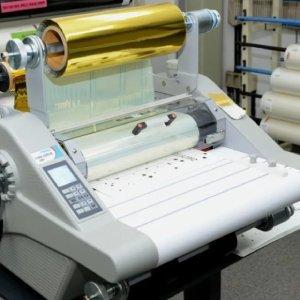 Rolled laminator